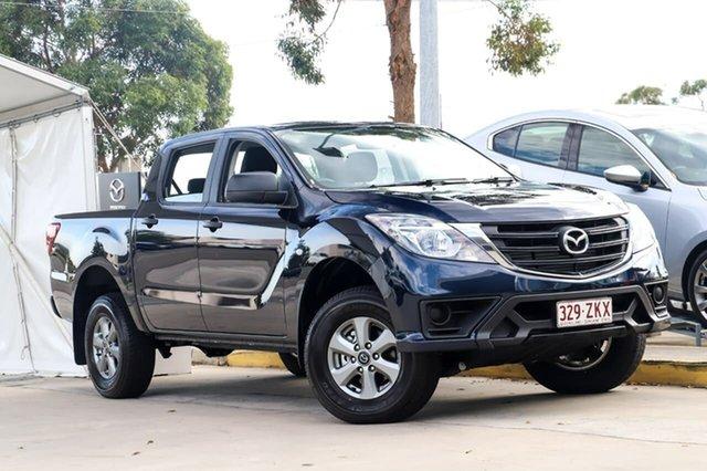 Used Mazda BT-50 UR0YG1 XT Kirrawee, 2019 Mazda BT-50 UR0YG1 XT Crystal Blue 6 Speed Sports Automatic Utility