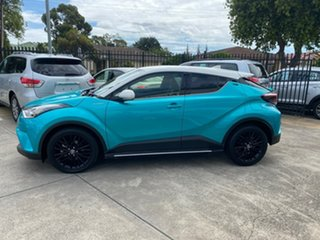 2018 Toyota C-HR NGX10R Koba S-CVT 2WD Green 7 Speed Constant Variable Wagon