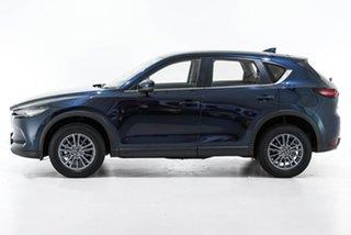 2019 Mazda CX-5 KF4WLA Maxx SKYACTIV-Drive i-ACTIV AWD Sport Blue 6 Speed Sports Automatic Wagon
