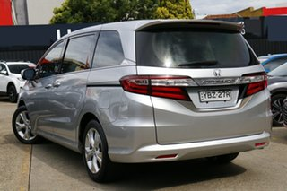 2014 Honda Odyssey RC MY14 VTi Silver 7 Speed Constant Variable Wagon.