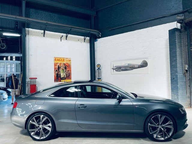 Used Audi A5 8T MY13 Multitronic Port Melbourne, 2013 Audi A5 8T MY13 Multitronic Grey 8 Speed Constant Variable Coupe