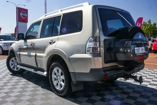 2009 Mitsubishi Pajero NT MY09 GLS Gold 5 Speed Sports Automatic Wagon.
