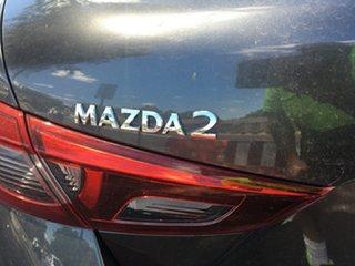 2020 Mazda 2 DL2SAA G15 SKYACTIV-Drive Pure Machine Grey 6 Speed Sports Automatic Sedan