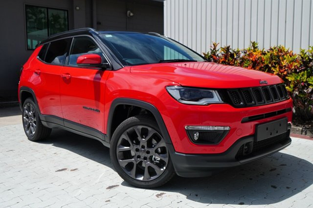 New Jeep Compass M6 MY20 S-Limited Cairns, 2020 Jeep Compass M6 MY20 S-Limited Colorado Red 9 Speed Automatic Wagon