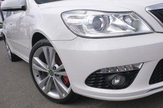 2011 Skoda Octavia 1Z MY12 RS DSG 147TSI Candy White 6 Speed Sports Automatic Dual Clutch Liftback.