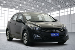 2015 Hyundai i30 GD3 Series II MY16 Active DCT Black 7 Speed Sports Automatic Dual Clutch Hatchback.