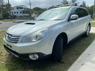 2011 Subaru Outback B5A MY12 2.0D AWD White 6 Speed Manual Wagon.