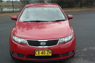 2012 Kia Cerato TD MY12 S Red 6 Speed Sports Automatic Hatchback.