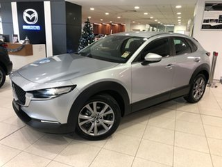 2020 Mazda CX-30 DM2W7A G20 SKYACTIV-Drive Evolve Sonic Silver 6 Speed Sports Automatic Wagon.