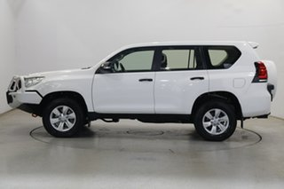 2019 Toyota Landcruiser Prado GDJ150R GX White 6 Speed Sports Automatic Wagon.