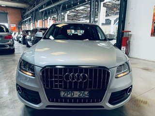 2013 Audi Q5 8R MY13 TFSI Tiptronic Quattro Silver 8 Speed Sports Automatic Wagon