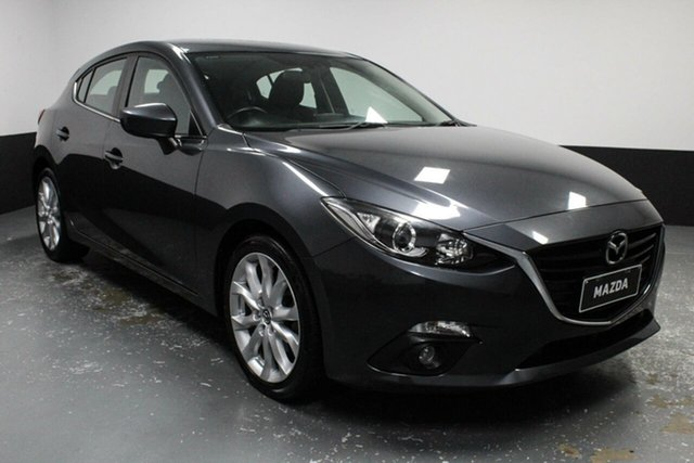 Used Mazda 3 BM5436 SP25 SKYACTIV-MT Cardiff, 2015 Mazda 3 BM5436 SP25 SKYACTIV-MT Grey 6 Speed Manual Hatchback