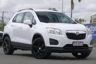 2015 Holden Trax TJ MY15 LS Summit White 6 Speed Automatic Wagon.