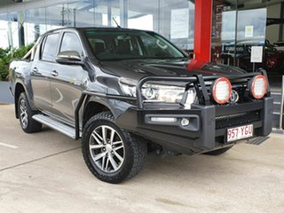 2018 Toyota Hilux SR5 Grey 6 Speed Automatic Dual Cab.