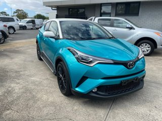 2018 Toyota C-HR NGX10R Koba S-CVT 2WD Green 7 Speed Constant Variable Wagon.