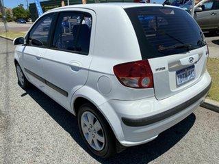 2004 Hyundai Getz TB GL White 4 Speed Automatic Hatchback.