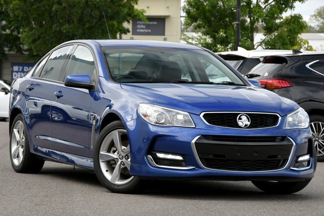 Used Holden Commodore VF MY15 SV6 Windsor, 2015 Holden Commodore VF MY15 SV6 Blue 6 Speed Sports Automatic Sedan