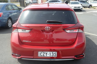 2015 Toyota Corolla ZRE182R Ascent Red 6 Speed Manual Hatchback