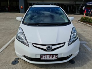 2010 Honda Jazz GE MY10 GLI Limited Edition White 5 Speed Automatic Hatchback.