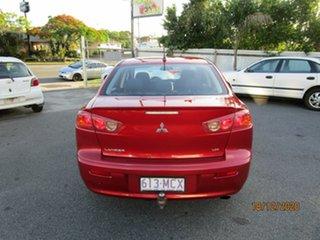 2007 Mitsubishi Lancer CJ VR Red 5 Speed Manual Sedan