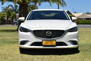 2015 Mazda 6 GJ1032 Touring SKYACTIV-Drive White 6 Speed Sports Automatic Sedan.