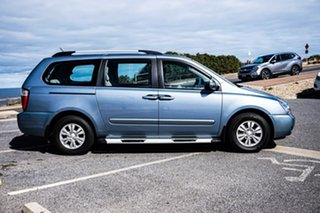 2013 Kia Grand Carnival VQ MY14 SI Blue 6 Speed Sports Automatic Wagon.