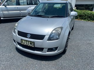 2010 Suzuki Swift RS415 Silver 5 Speed Manual Hatchback.