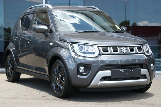 New Suzuki Ignis MF Series II GLX Springwood, 2021 Suzuki Ignis MF Series II GLX Grey 1 Speed Constant Variable Hatchback