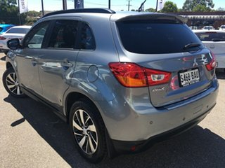 2014 Mitsubishi ASX XB MY15 XLS 2WD Grey 6 Speed Constant Variable Wagon