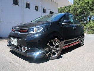 2020 Kia Picanto JA MY21 GT-Line Black 4 Speed Automatic Hatchback.