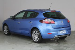2015 Renault Megane III B95 Phase 2 GT-Line EDC Blue 6 Speed Sports Automatic Dual Clutch Hatchback.