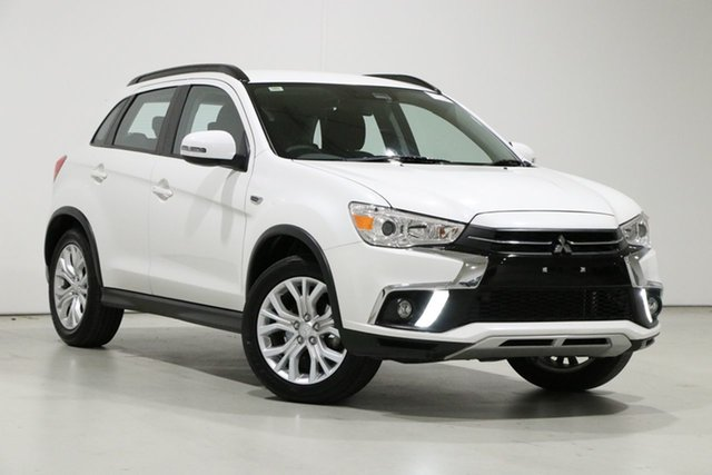 Used Mitsubishi ASX XC MY19 ES (2WD) Bentley, 2018 Mitsubishi ASX XC MY19 ES (2WD) White Continuous Variable Wagon