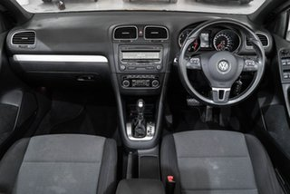 2013 Volkswagen Golf VI MY13.5 118TSI DSG Black 7 Speed Sports Automatic Dual Clutch Cabriolet.