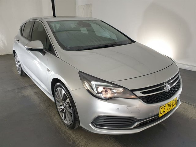 Used Holden Astra BK MY17 RS-V Maryville, 2016 Holden Astra BK MY17 RS-V Silver 6 Speed Manual Hatchback