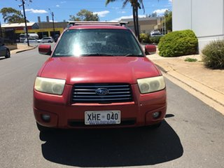 2005 Subaru Forester 79V MY06 XS AWD Red 4 Speed Automatic Wagon