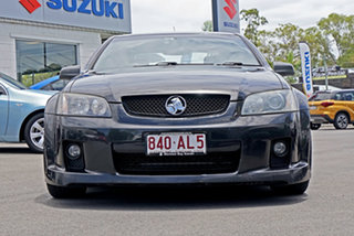 2007 Holden Commodore VE SS Black 6 Speed Sports Automatic Sedan.