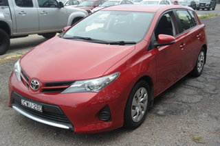 2013 Toyota Corolla ZRE152R Ascent Red 4 Speed Automatic Sedan.