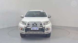 2016 Mitsubishi Pajero Sport QE GLX (4x4) Marble White 8 Speed Automatic Wagon.