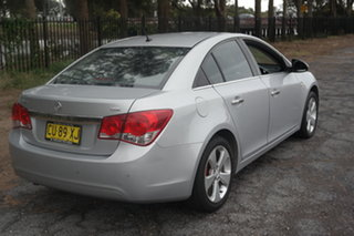 2010 Holden Cruze JG CDX Silver 6 Speed Sports Automatic Sedan