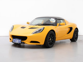 2013 Lotus Elise MY12 Upgrade Solar Yellow 6 Speed Manual Roadster