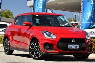2018 Suzuki Swift AZ Sport Red/Black 6 Speed Manual Hatchback.