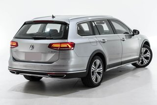 2016 Volkswagen Passat 3C (B8) MY16 140TDI DSG 4MOTION Alltrack Silver 6 Speed.