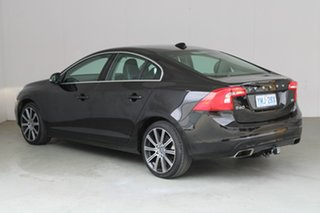 2016 Volvo S60 F Series MY17 T5 Adap Geartronic Luxury Black 8 Speed Sports Automatic Sedan.
