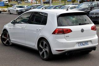 2014 Volkswagen Golf VII MY14 GTI DSG White 6 Speed Sports Automatic Dual Clutch Hatchback.