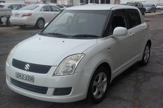 2008 Suzuki Swift RS415 White 5 Speed Manual Hatchback.