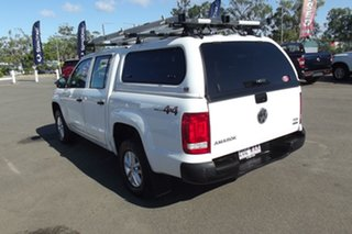 2016 Volkswagen Amarok 2H MY16 TDI400 4MOT Core White 6 Speed Manual Utility.