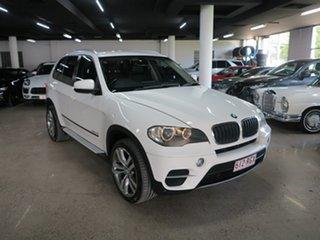 2010 BMW X5 E70 MY11 xDrive30d Steptronic White 8 Speed Sports Automatic Wagon.