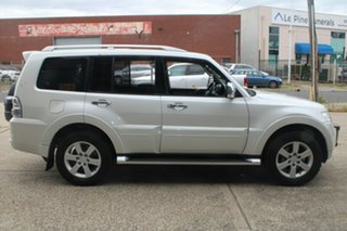 2011 Mitsubishi Pajero NT MY11 RX (4x4) White 5 Speed Auto Sports Mode Wagon