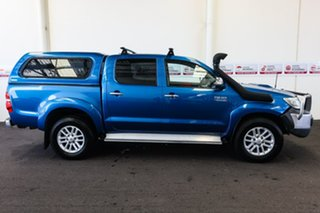 2012 Toyota Hilux KUN26R MY12 SR5 (4x4) Tidal Blue 4 Speed Automatic Dual Cab Pick-up
