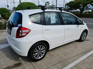2010 Honda Jazz GE MY10 GLI Limited Edition White 5 Speed Automatic Hatchback
